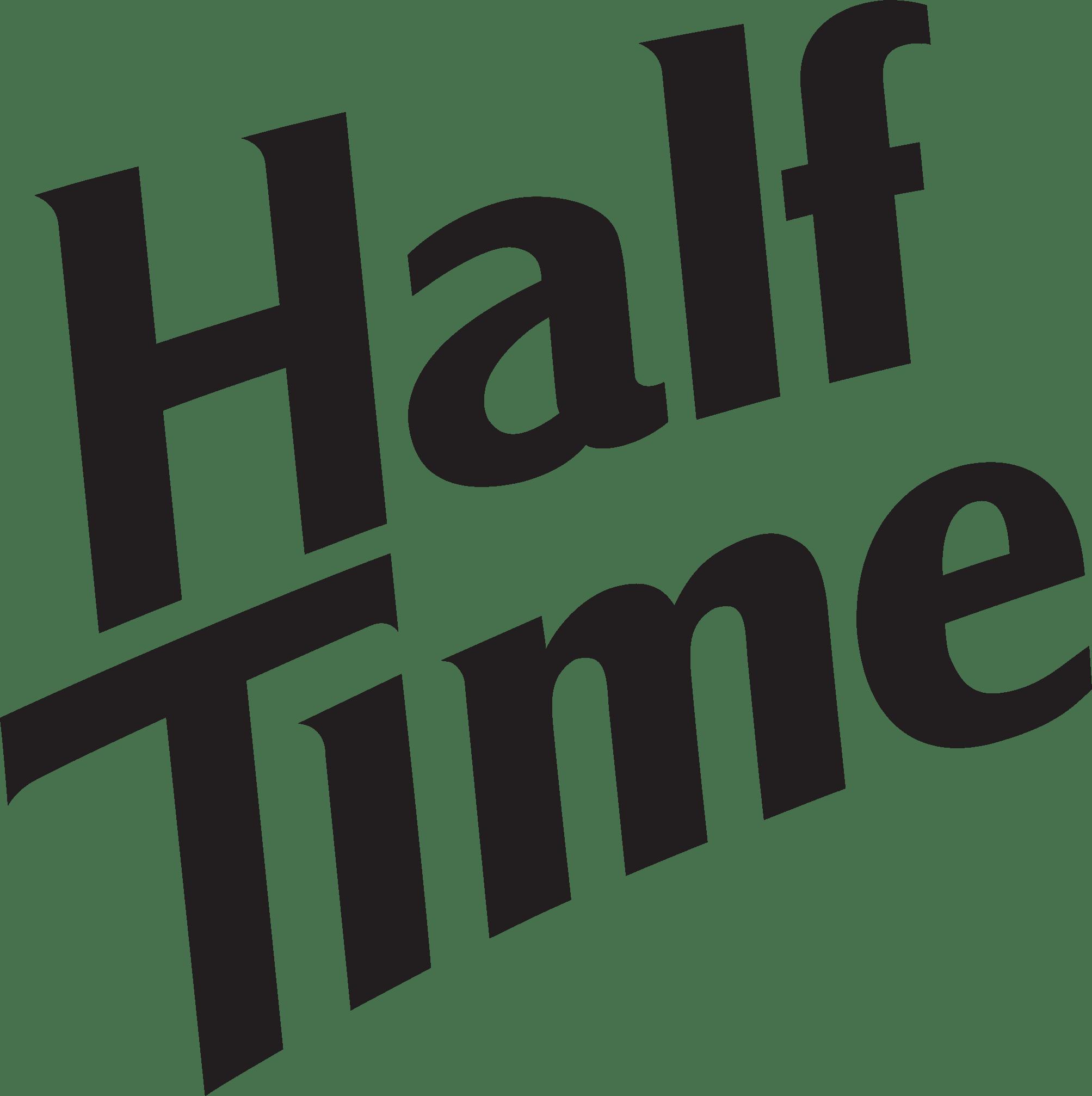 Half Time logo 2020 BLACK