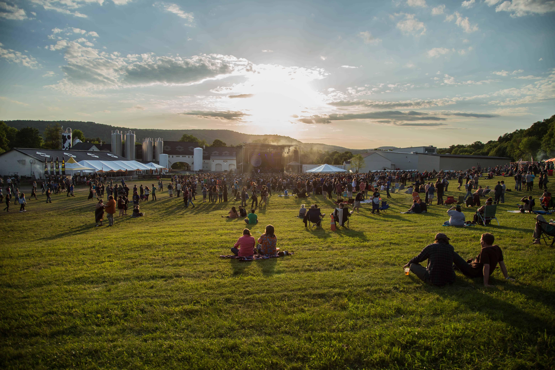 Ommegang Concert Sunset Photo